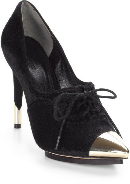 Rachel Roy Calf Hair Oxford black Pumps_size 6
