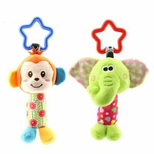 Hanging-Plush-Baby-Toy-Rattle-Lovely-Cartoon-Animal-Bell-Newborn-Stroller