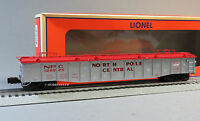 Lionel North Pole Central Scale 52' 6 Gondola W Covers O Gauge Train 6-81895