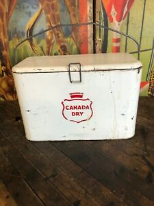 VINTAGE-CANADA-DRY-A2-COOLER-COCA-COLA-COKE-7UP-PEPSI-DR-PEPPER-ORANGE-CRUSH-SIG
