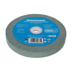 Green-Silicon-Carbide-Bench-Grinding-Wheel-150-X-20Mm-Medium-Sanding-Workshop