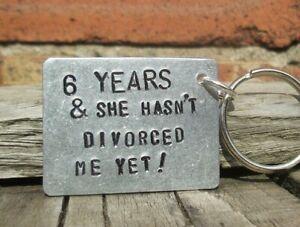 Keyring 6th Wedding Anniversary Gifts