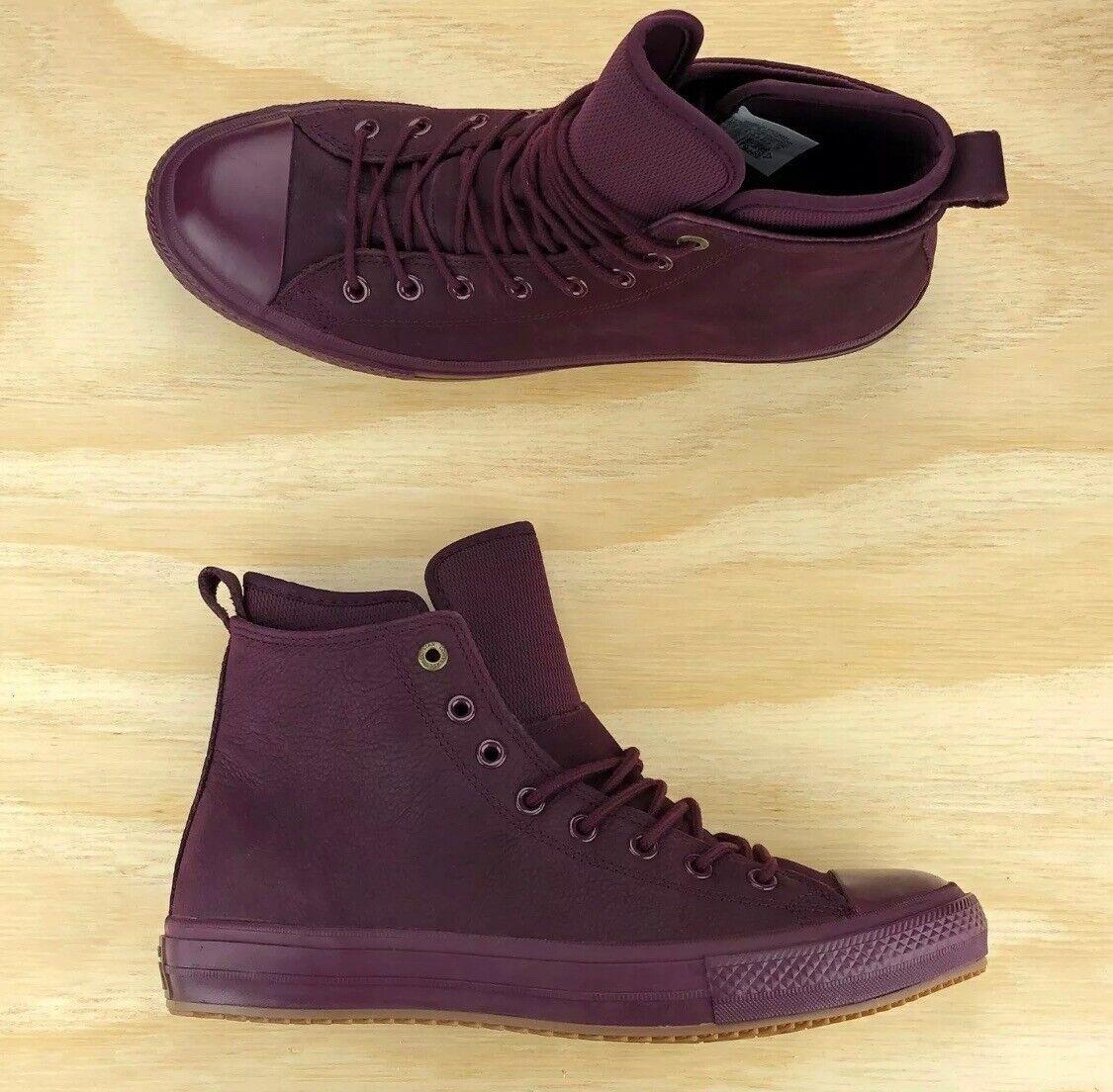 Converse Chuck Taylor All Star WP Boot Hi Top Dark Sangria Lunarlon [157458C] Mu