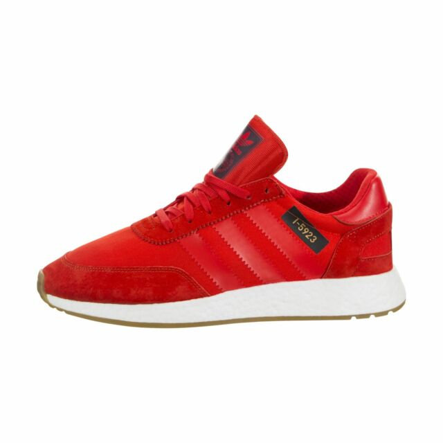e9f0484616f54d Mens adidas Iniki Runner I-5923 Core Red White Gum Brown B42225 US ...