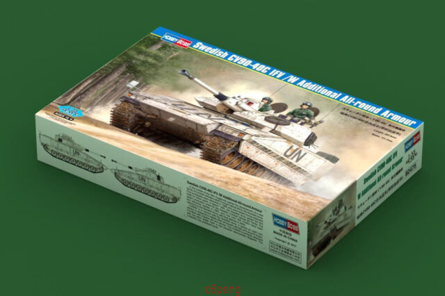 Hobbyboss 1/35 82475 Swedish CV90-40C IFV/ w/ round armour MODEL KIT Hot