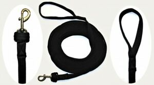 LONGE  LONGIERLEINE # SOFTLONGE # LONGIERSEIL Seil ~ 8,5 m ~ Haken austauschbar