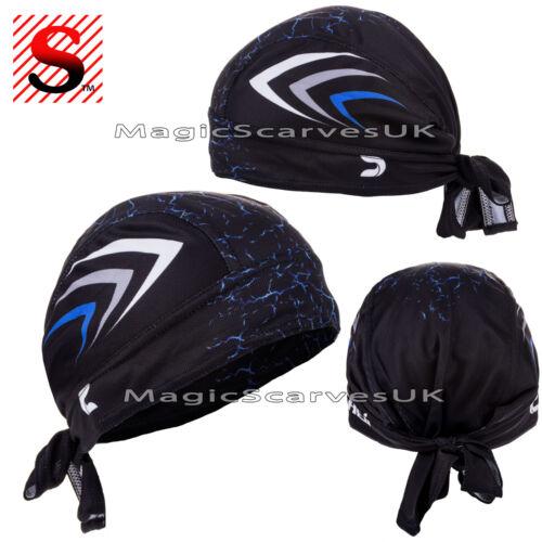 Men Do Durag Bandana Scarf Head Tie Down Band Cycling Biker Skull Cap Pirate Hat