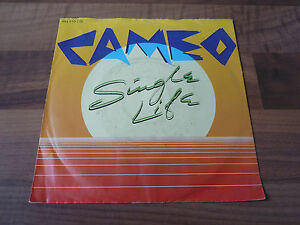 CAMEO-SINGLE-LIFE-7-034-VINYL-LP-80er-Jahre