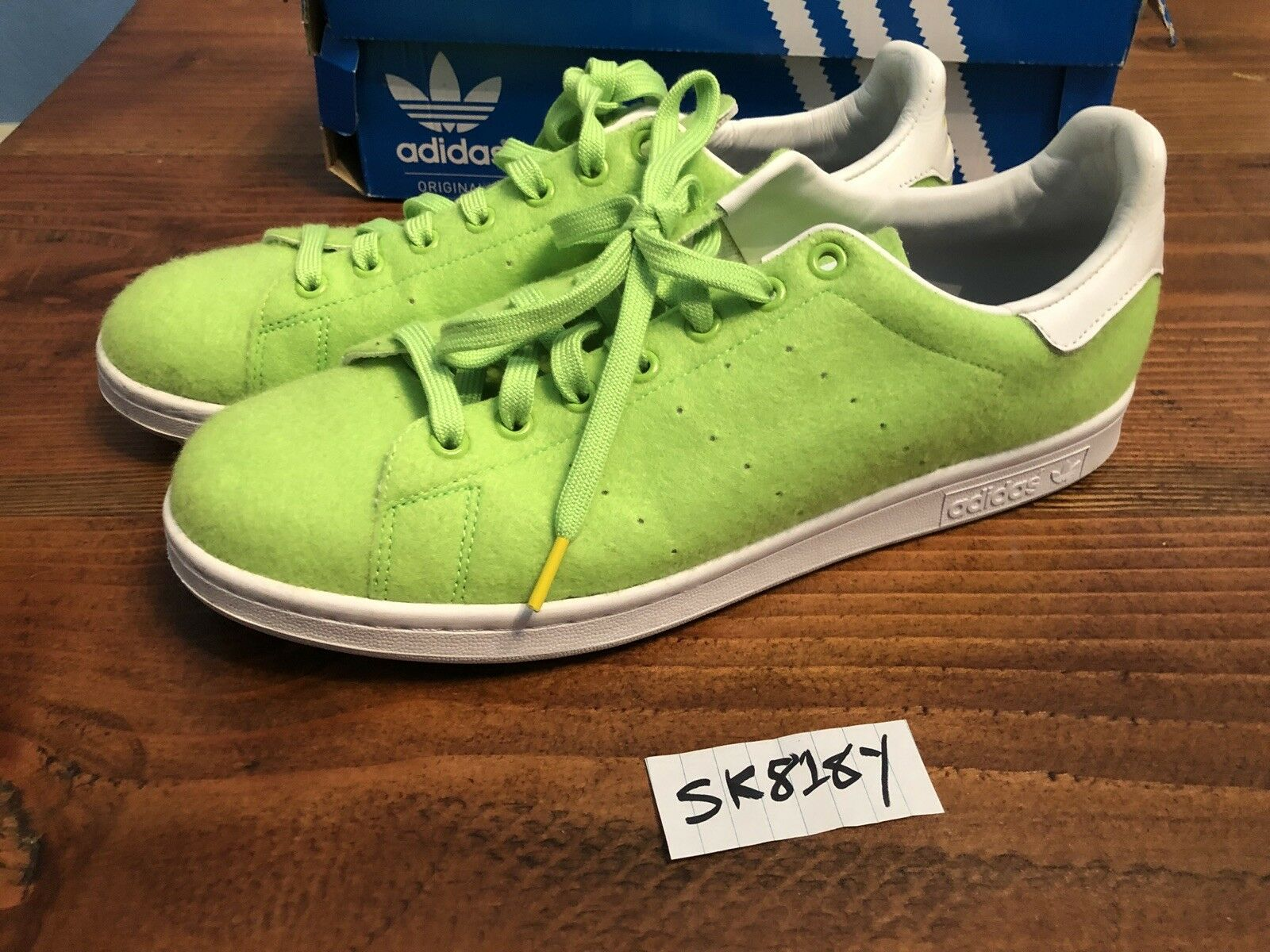 ADIDAS x PHARRELL WILLIAMS TENNIS BALL PACK STAN SMITH GREEN SNEAKERS Comfortable Casual wild
