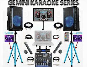 KARAOKE SYSTEM PROFESSIONAL KARAOKE & DJ SYSTEM PRO AUDIO SOUND EQUIPMENT