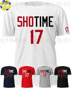 Los Angeles Angels Shohei Ohtani ShoTime 17 Jersey Tee T Shirt Men ... 42e282261