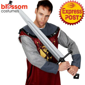 AC1005-Knight-Sword-Crusader-Gladiator-Roman-Soldier-Medieval-Costume-Accessory