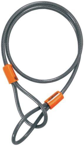 """210818 KRYPTONITE KryptoFlex 525 Double Loop Cable 2.5' x 3//16"""" 76cm x 5mm"""