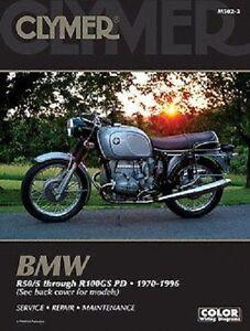 CLYMER SERVICE MANUAL BMW R80 1985-87 R90/6 1973-76 R90S 1973-76 ...