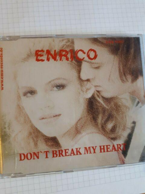 DON T BREAK MY HEART - ENRICO [Single-CD]