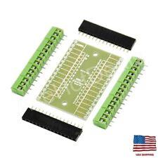 Expansion Board Terminal Adapter DIY Kit For Arduino NANO IO Shield V1.0  MF