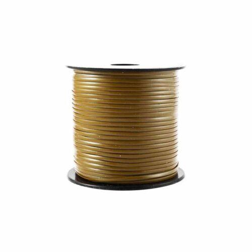 Gold Plastic Craft Lace Lanyard Gimp String Bulk 50 Yard Roll
