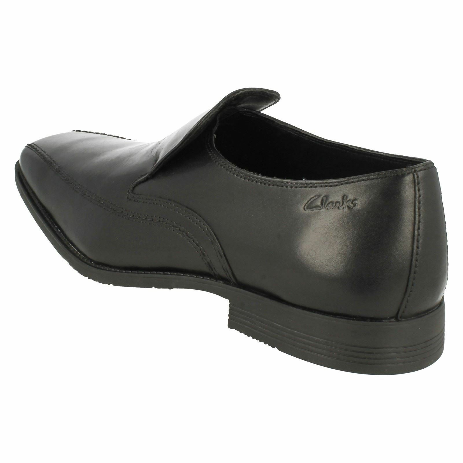 Herren G Fassung Acker Out Clarks schwarzes Leder Slipper von Clarks Out 22537b