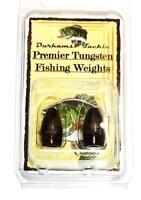 Durhams Tackle- Premier Tungsten Flipping Weight 1/2oz Black (2 Pack)