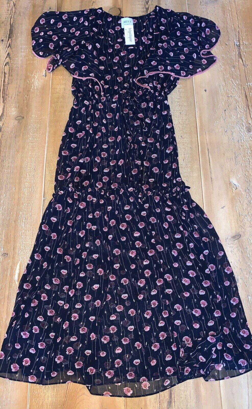 MISA Veronique robe à fleurs, Neuf avec étiquettes, plusieurs tailles