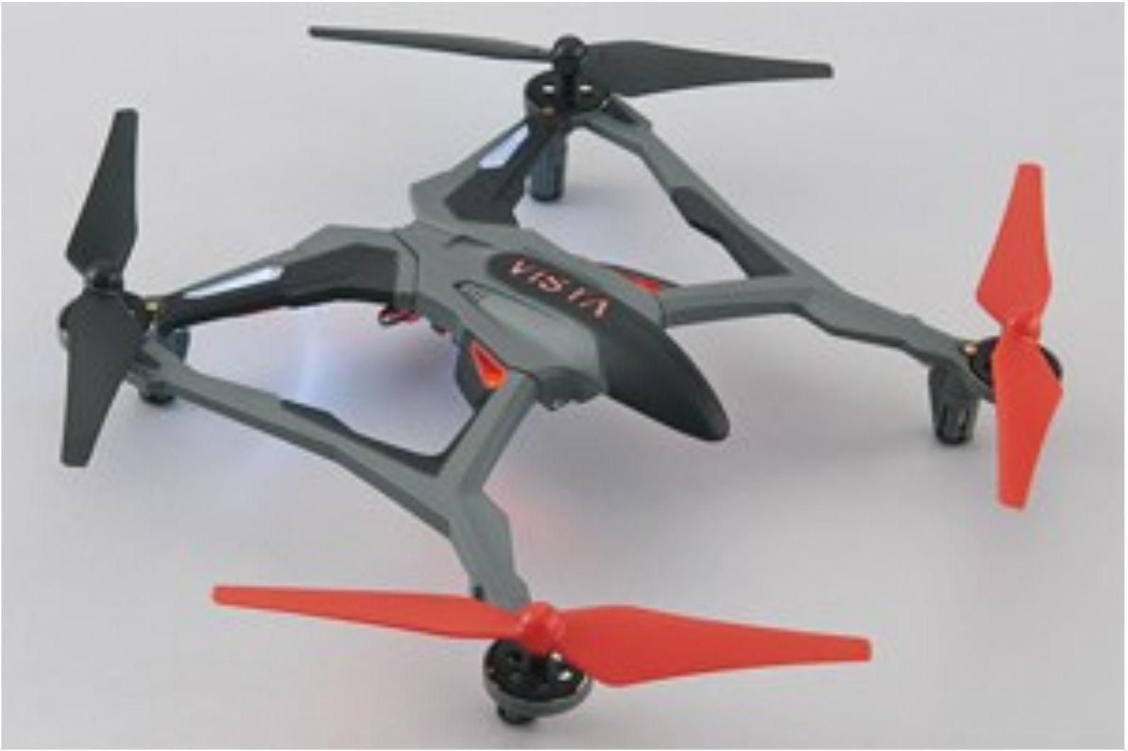 Dromida vista risultando ROSSO quadkopter dide 03rr