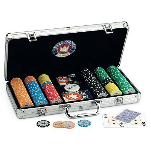 Juego JU00379 Poker Pro Team 300 300 300 Mallette en aluminium Luca Païen New 5bb20e