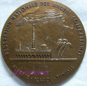 MED9637-MEDAILLE-FED-NATIONALE-ANCIENS-COMBATTANTS-ALGERIE-MAROC-TUNISIE