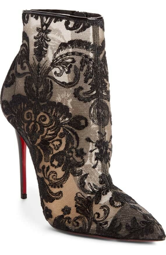 reputable site ddece 95a3f BRAND NEW Authentic Christian Louboutin GIPSYBOOTIE Lace ...