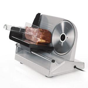 Allesschneider-Brotschneidemaschine-Kompakt-150-Watt-Metall-Kaese-Wurstschneider