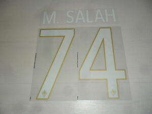 Doux 2602 Bis M. Salah 74 Official Name Set Maglia Fiorentina 2014 Home Shirt Jersey éConomisez 50-70%