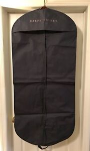 24a2c98d5e0d Image is loading 100-Authentic-Ralph-Lauren-Long-Garment-Bag-Navy-
