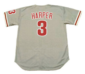 c3c9ae152 Image is loading BRYCE-HARPER-Philadelphia-Phillies-Away-Majestic-Baseball- Jersey