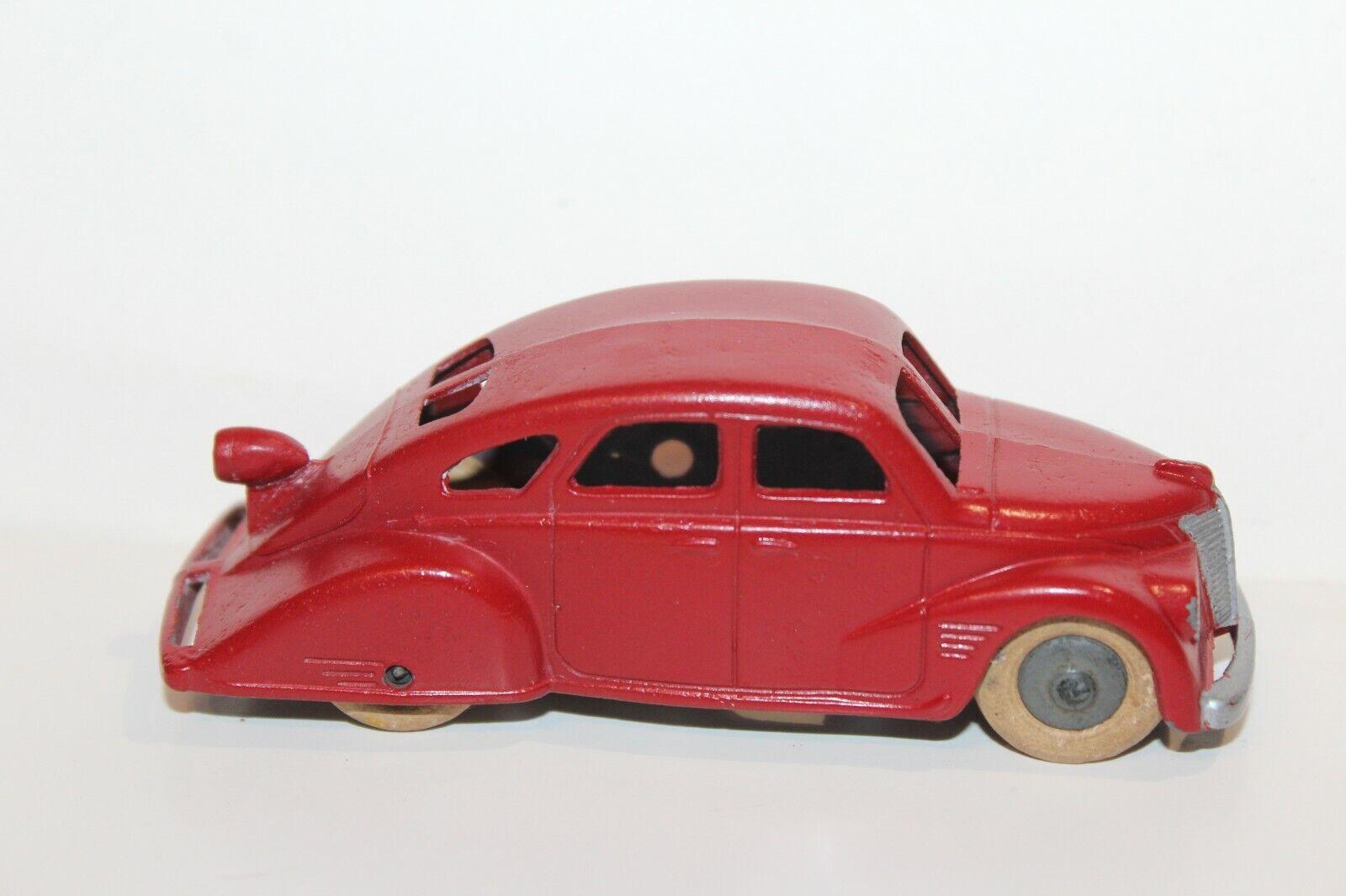 Agréable 1937 Tootsietoy Lincoln Zephyr Berline Partiel Vérsion