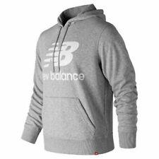 New Balance Men Essentials Stacked Logo Po Hoodie Top Sweatshirt