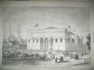 TURQUIE-CONSTANTINOPLE-EXPO-UNIVERSELLE-MEXIQUE-PALO-VERDE-LE-PUY-GRAVURES-1863