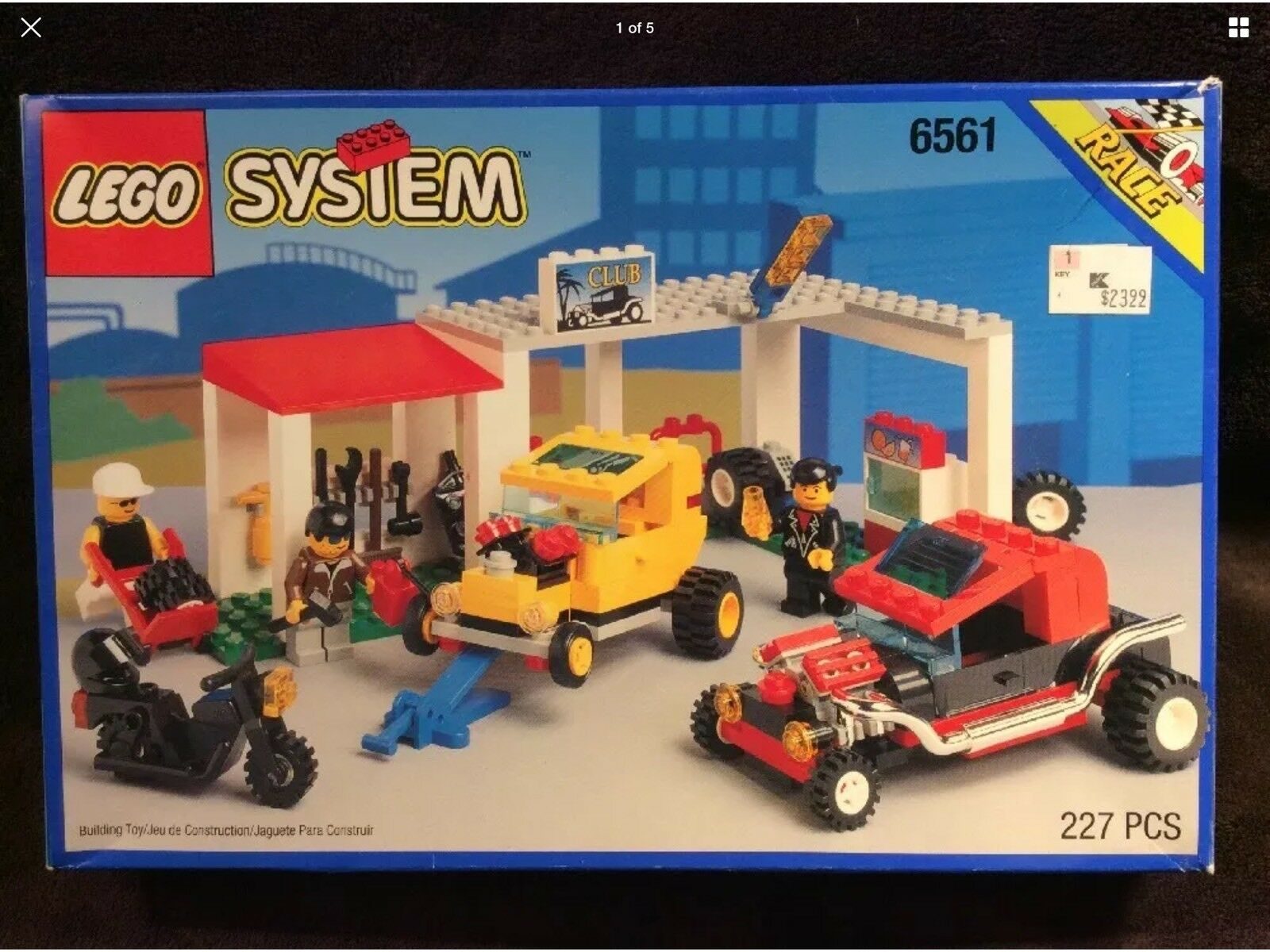 Lego 6561 System Hot Rod Club Rat Rod Car 1994 Vintage 100% Complete