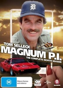 Magnum-P-I-Season-8-DVD-NEW-Region-4-Australia