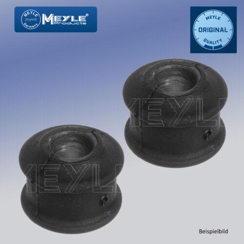 2x MEYLE 3146150028 Lagerung Stabilisator Stabilager für BMW