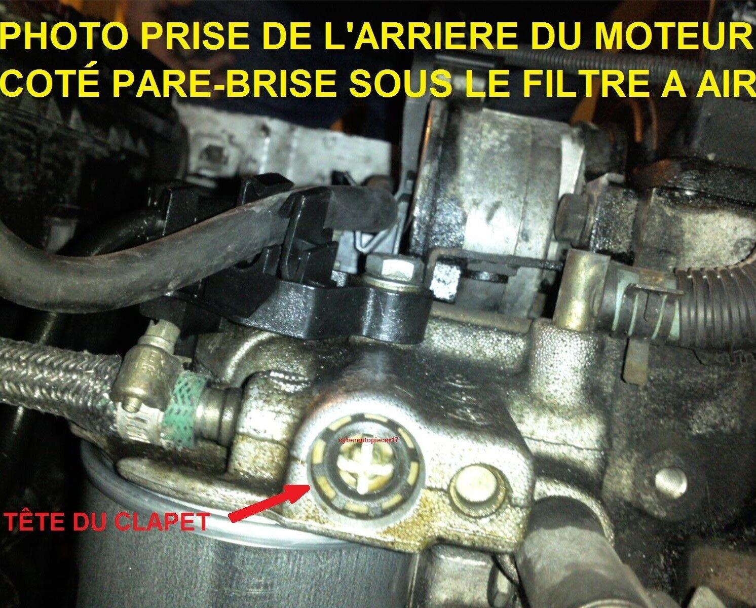 CLIPS REPARATION DE PANNE SUPPORT FILTRE A GAZOIL  106 1,5 D TUD5* KIT JOINT