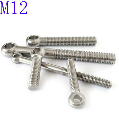 M6 304 Stainless Steel Machinery Shoulder Lifting Eye Bolt O ring head Axle bolt