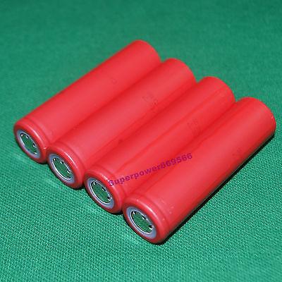 4PC SANYO UR18650ZY 18650 2600mAh 3.7V Li-ion  battery FLAT TOP for assembly