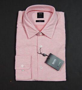 8156a80b3 HUGO BOSS 'T-Riccardo_F' Italian Fabric Cotton Tailored Slim Fit ...