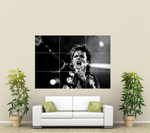 Michael Jackson Giant XL Section Wall Art Poster M107