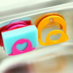 Sponge Holder Suction Cup Convenient For Home Kitchen Holder Tools Gadget Decor