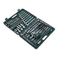 Homcom 138 Pc Tool Set Mechanics Craftsman Ratcheting Wrench Socket W/ Case Box on sale