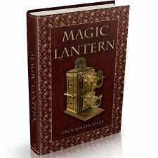 70 Rare MAGIC LANTERN Books on DVD Glass Slides Projector Vintage Lens Science