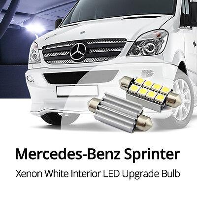 Mercedes Sprinter 906 3-T 239 C5W White Interior Courtesy Bulb LED Light Upgrade