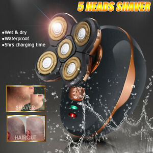 5-Heads-Waterproof-Shaving-Blade-Razor-Electric-Shaver-USB-Rechargeable-Wet-Dry