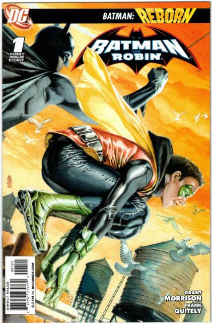 BATMAN AND ROBIN #1 1:25 J.G. JONES VARIANT EDITION DC COMICS 2009 MORRISON RARE