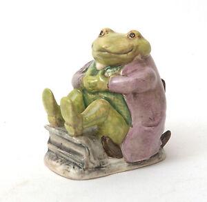Beswick-Beatrix-Potter-Figurine-Mr-Jackson-Green-Toad-BP-3a